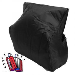 420D tjock vadderad dragkedja väska väska för 60 120 bas piano ryggsäck