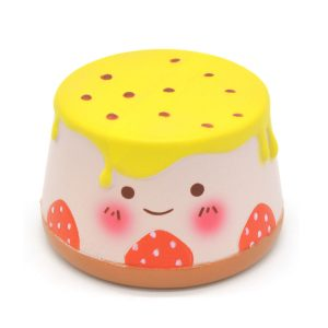 10cm Pudding Squishy Långsam Rising Leksaker Scented biltoon Jelly Cake Present Collection