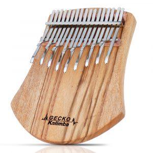 GECKO K17NOTE 17 Keys Kalimba Camphorwood Thumb Piano Finger Med Tuning Hammer