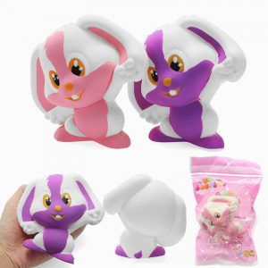 Squishy Rabbit Bunny 12cm Mjukt Långsam Rising 8s Med Packaging Collection Present Decor Toy