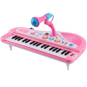 37 Key barns Electronic Keyboard Piano Musical Toy med mikrofon för barnleksaker