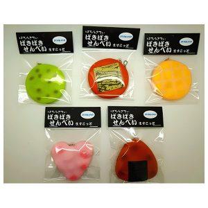 6cm Squishy Sound Crack Biscuit Cookie Hängsmycke Japansk Style Cracker barns Present med Förpackning