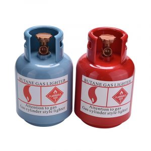 Gas Tank Spargris Gas Cylinder Mynt Förvarings Bank låda Pengar Container Present Leksaker Slumpmässig Färg