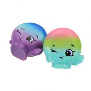 2 st Pepparmint Creamsocker Squishy 6,5 * 3,5 cm långsammare mjuka samling present inredning leksak