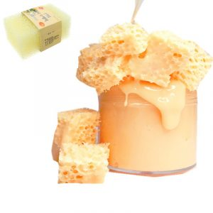 2 st Honeycomb Sponge Mud DIY Slime fyllmedel 11,7 * 7,5 * 3cm Pottery Clay Tool
