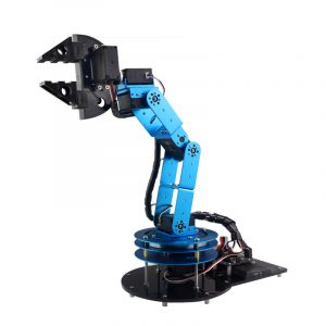 DIY 6DOF Robot Arm 51 Microcontroller Mekanisk arm Med Claw Holder Digital Servo