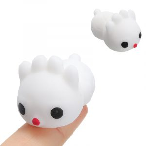 Fyrkantig Beast Squishy Squeeze Söt Healing Toy Kawaii Collection Stress Reliever Present Decor