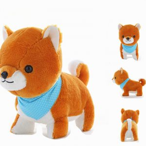 40CM Creative Simulation Super Cute Little Amuse Ved Dog Plush Leksaker Baby Barn Födelsedagspresent