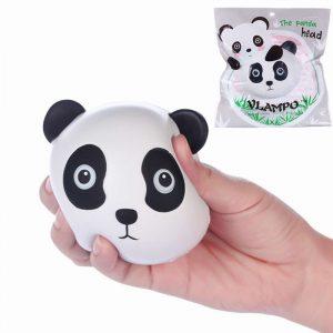 Vlampo Squishy Panda Head Ansiktslicensierad Slow Rising  Collection Toy Present Decor