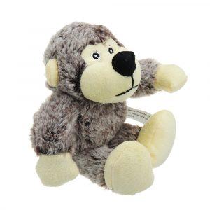 Monkey Pet Stuffed Plush Leksaker DjurSounds Maker Toy Rolig Squeeze Stress Reliever