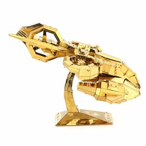 MU TGA-G02 3D pusselmodell Thubderhawk Gunship Aircraft Color Gold 180 * 135 * 90mm