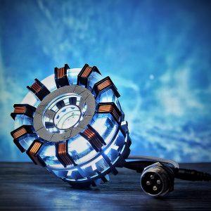 STEM Illuminant Arc Reactor Prydnadslampa Vetenskap Toy Toy Boys Gift Collection