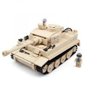 995st tyska Tiger Tank Byggklossar pedagogisk Fidget Leksaker