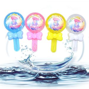 Kiibru Lollipop Slime 12,5 * 6,5 * 2,5 cm Transparent Jelly Mud DIY Present Toy Stress Reliever