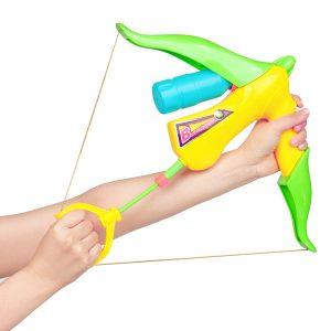 Cikoo Gun Leksaker Bow Arrow Spray Vatten Sommar Utomhus Vuxen Boy Girl Spela Water Beach Play Leksaker