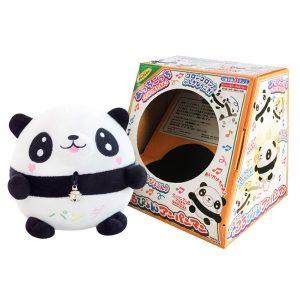 Hoppa Springback Ball Fylld Panda Docka DjurMusical Tumbler Toy With Packing