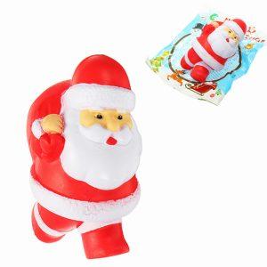 Kameleon Squishy Santa Claus Father Christmas långsammare med förpackning