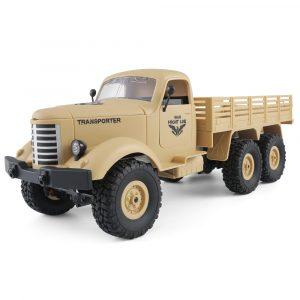 JJRC Q60 1/16 2.4G 6WD Off-Road Militär Truck Crawler RC Bil