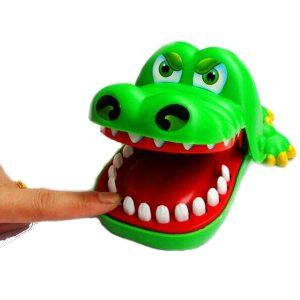 Big Mouth Crocodile Bite Finger Roligt föräldra-barns utbildningsleksak