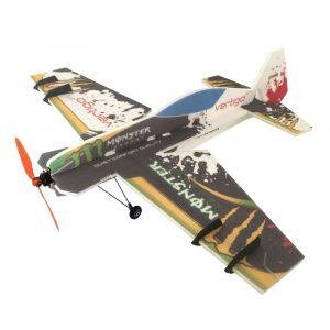 Vertigo 800mm Vingarpan 3D Aerobatic EPP F3P Radiostyrda Flygplan KIT