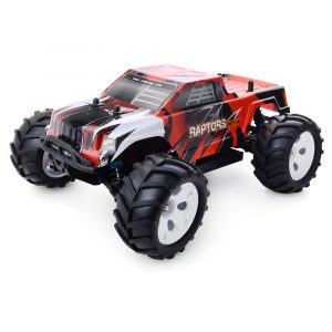 Radiostyrd RC Racing Bil, 4WD, 40km / timme, Borstlös, Monster Terrängbil