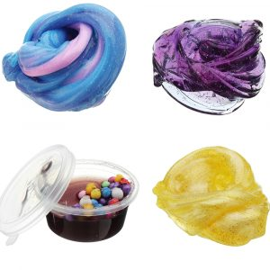 60ML Multicolor Mixed Bomull Plasticine Slime Mud DIY Present Leksaker Stressavlastarer