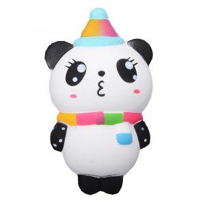 Julbjörn Squishy 14 * 8cm Mjukt långsamt stigande med Packaging Collection Present Toy