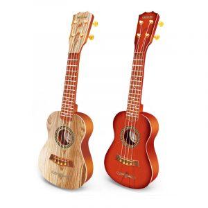 4 Strängar Plast Ukulele Uke Guitar Utbildning Musikaliskt Instrument Leksak för Barn