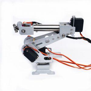 DIY 6DOF RC Robot Arm Rostfritt Stål Robot Arm För Arduino