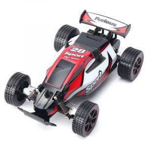 1/20 Höghastighets Radio Fjärrkontroll RC RTR Racing Buggy Bil Off Road Grön Röd