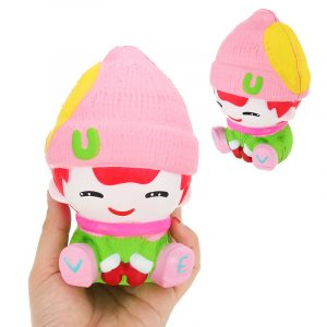Snowman Boy Squishy 13cm Doft Squeeze Slow Rising Toy Soft Present Collection