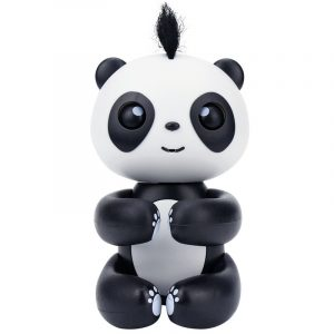 2 st Finger baby Interaktiv Intelligent   Panda Smart   Färgstark Touch Reaction Barn Leksaker
