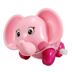 Kedja Baby Walking Elephant Super Sprouting DjurWind Up barnren Pedagogiska Leksaker
