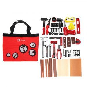 69st Pretend Play Classic Gardening Tool Toy Reparation Verktyg Set Barn Utvecklingsverktyg Kit Leksaker