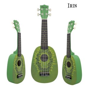IRIN 21 tums Basswood Sopran Vattenmelonstil Kiwi-stil Ukulele 4 String Uke