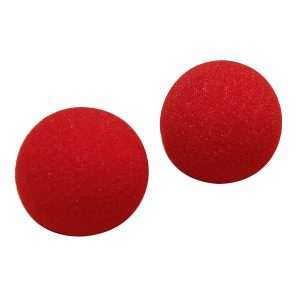 2st Närbild Magic Street Trick Mjuk Svamp Ball Props Clown Nose