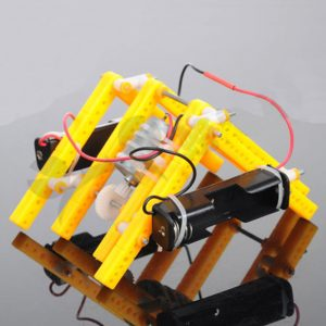 DIY RC Walking Robot STEAM Pedagogiska Kit Present till barn