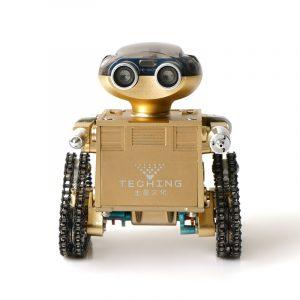 TEACHING DIY Trailblazers 1 Självmonterad APP Control Smart Delicate Robot för Android System