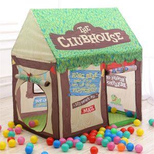 30 tum barns Tent Barn Spelrum Pojkar Girls Castle Cubby Play House Stuga Leksaker