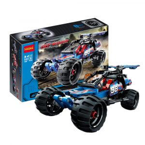 160st 3D Byggstenar Sport Off-Road Racer Bil Leksaker