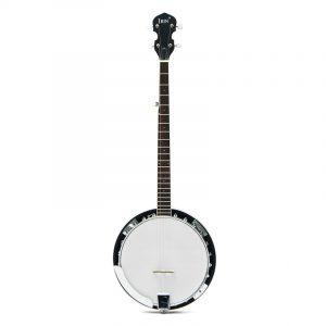 5-String 22 Fret Remo Bluegrass Banjo Gitarr Mahogany Wood Traditionell Western Ukulele
