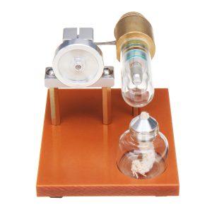 Hot Air Stirling Motorn Modell Vetenskap Leksak Fysiskt Princip Metal Metal Leksaker