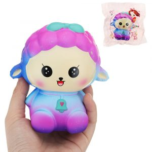 Cooland Lohan Docka Squishy 11,5 * 11 * 8,5 cm långsammare med Packaging Collection Present Soft Toy