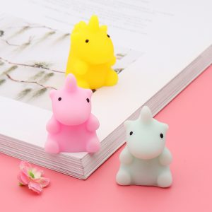 Mochi Squishy Little Monster Squeeze Söt Healing Toy Kawaii Collection Stress Reliever Present Decor