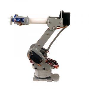 DIY 6DOF Robotarm 4 Axis roterande mekanisk robotarm för Arduino