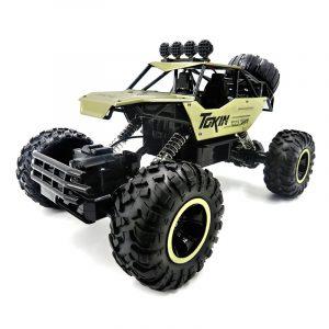 Flytec 6026 1/12 RC Bilfordon 2.4G Metall Alloy bil Body Shell Rock Crawler Buggy Modell Toy