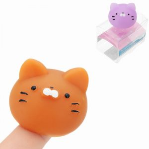 Mochi Maneki-neko Fortune Cat Kitten Squishy Squeeze Söt Healing Toy Kawaii Collection Stress Reliever