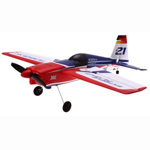 XK A430 2.4G 5CH 3D6G systemborstlös RC-flygplanskompatibel Futaba RTF