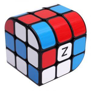 Classic Magic Cube Leksaker 3x3x3 PVC Sticker Block Pussel Hastighet Minskande Cube
