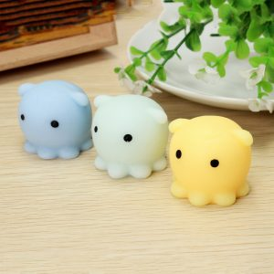 Octopus Squishy Squeeze Toy Söt Healing Toy Kawaii Collection Stress Reliever Present Decor